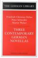 Three Contemporary German Novellas:
