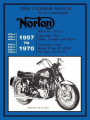 Norton Motorcycles Factory Workshop Manual 1957-1970
