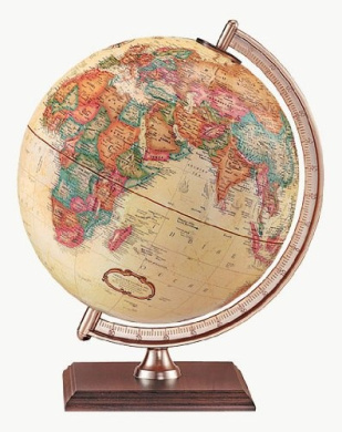 Rustic Black Steel Stand Black Ocean World Globe Designed for Modern Industrial Decor 12//30 cm diameter Replogle Designer Series Globe Replogle Hamilton Raised Relief