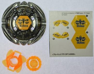 Takara Tomy Beyblade Metal Fight BB-57 Flame Libra DF145BS