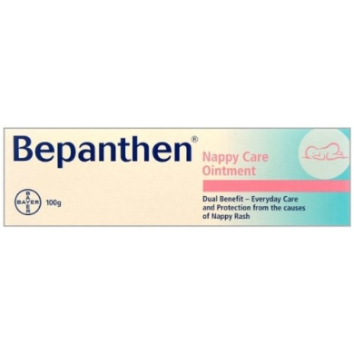 Bepanthen Nappy Care Ointment Nappy Rash Cream 100g Multibuy