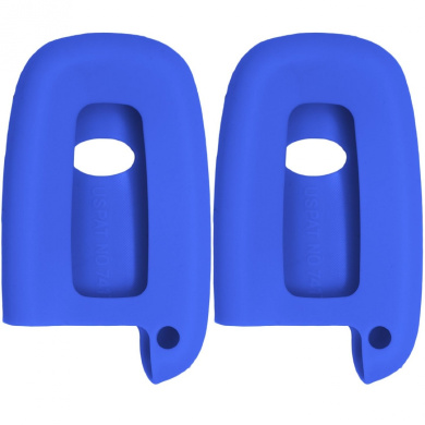 Blue New Silicone Cover Protective Case for Select Remote Key Fobs SV3HMTX