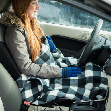 RVs car seat Electric heated throw blanket for trucks travel Keptfeet 150x100cm 12v electric car blanket in winter camping 45W Heated car blanket