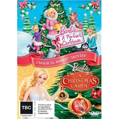 Barbie A Perfect Christmas And Barbie In A Christmas Carol DVD by Barbie - Shop Online for ...