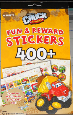 75 per Pack SmileMakers Inc Tonka Chuck /& Friends Stickers Party Favors