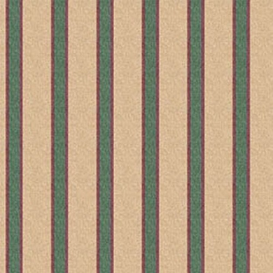 Dollhouse Wallpaper Medallion Navy Stripe NO BORDER