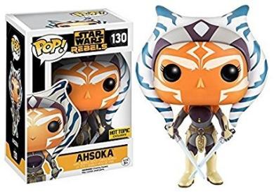 Ahsoka Star Clone Wars Funko 32956 POP Bobble Multi