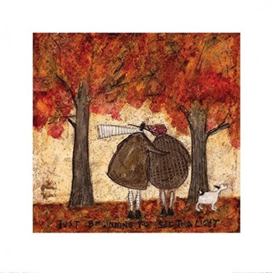 Sam Toft Canvas Print The Apple Doesn/'t Fall Far From The Tree 40x40cm