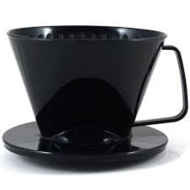 125mm Pour Over Coffee Filter Reusable Stainless Steel Cone Dripper with Cup Stand Suitable for 2 to 4 Cups of Coffee by Pingenaneer