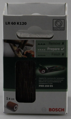 Bosch 1600A0014W Sanding Lamella Roll LR60 K120 PRR 250 Removing Roller