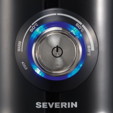 Severin Induction Milk Frother Variable Temperature Control 700ml Black SM9688