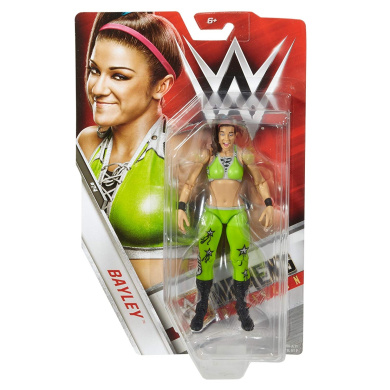 1 Official WWE Trading Card Bundle WWE x Basic Series Action Figure Mania Bayley FMH55