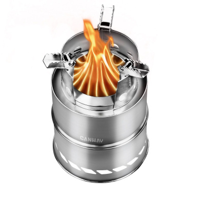 EFINNY Titanium Folding Alcohol Stove Bracket Portable Alcohol Fuel Stove Rack Outdoor Camping Picnic Furnace Burner Support Stand