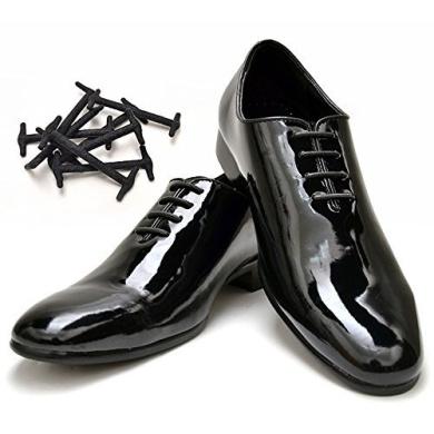 Korbond Black Flat Shoe Laces 110cm
