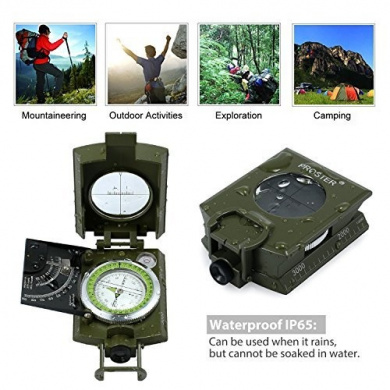 Newitts Orienteering Compass /• Navigation Compass /• Hiking Compass /• 7cm x 13.5cm