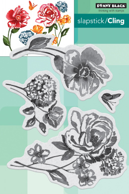 Penny Black 40-692 Escape Cling Rubber Stamp