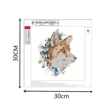 ZDDYX Painting by number Painting beach umbrella landscape series 5D DIY decoration home gifts