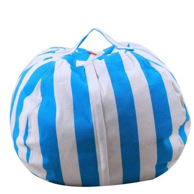 with Beans Filling Water Resistant Bonkers Kicky Bean Bag in Dark Blue