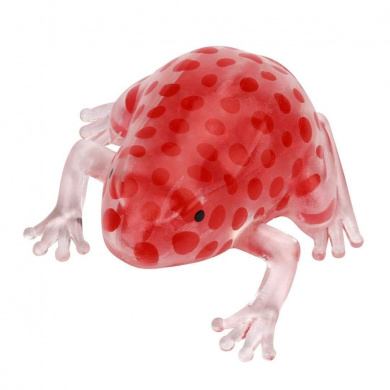 Red Toamen Stress Reliever Toy New 6cm Novelty Sticky Squeeze Frogs Squeezing Toy