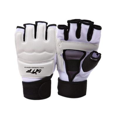 Rungear Taekwondo Training Boxing Gloves WTF Approved Martial Arts Muay Thai TKD Punching Bag Mitts MMA Sparring Karate Gloves for Men Women Kids