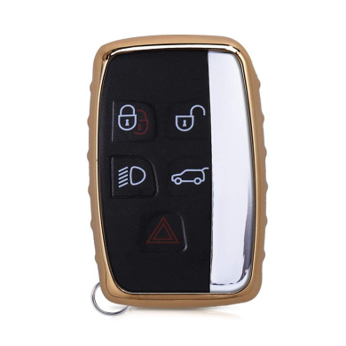 Rose Gold High Gloss kwmobile Key Cover Compatible with BMW