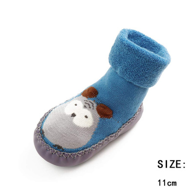 XFentech Kids Sock Baby Socks Cotton Children Floor Socks Anti-Slip Step Socks Shoes Boots Slipper 0-18 months 6 Colors