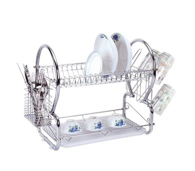 sq pro Professional Ltd Dish Drainer And Cutlery Rack Red