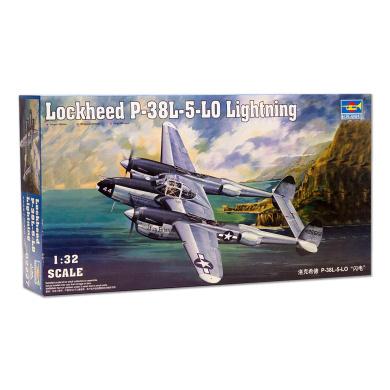 Mastercraft Collection Lockheed P-38J Lightning Pudgy Model Scale:1//32