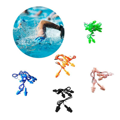 Waterproof Reusable Silicone Ear Plugs for Swimmers Showering Bathing Surfing and Other Water Sports VGEBY1 Waterproof Swimming Earplugs