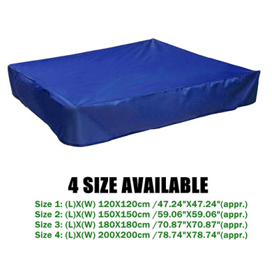 Prevent Leaves /& Animal Waste dDanke Blue Sandbox Covers with Drawstring As Sandpit Cover Pool Cover 95/% UV Protection Dustproof