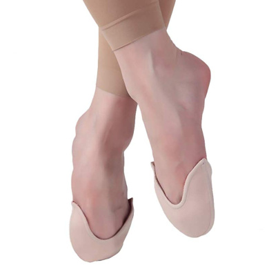 DANCEYOU Toe Pads Pointe Silicone Gel Ouch Pouch Protector for Ballet Soft Dance Gel Toe Cap