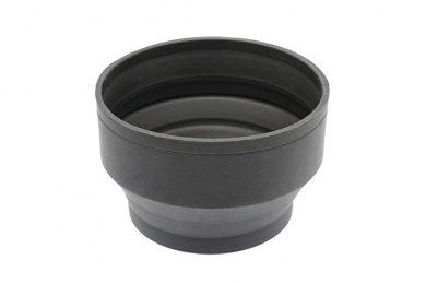 + Nwv Direct Microfiber Cleaning Cloth. Collapsible Design 37mm Sony DCR-DVD508 Pro Digital Lens Hood