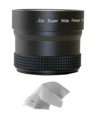 0.21x-0.22x High Grade Fish-Eye Lens Nwv Direct Micro Fiber Cleaning Cloth for Fujifilm Finepix S9600
