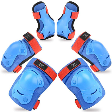 Kid/'s /& Adult Wristband Roller Blading Wrist Elbow Knee Pads Blades Guard 6 PCS
