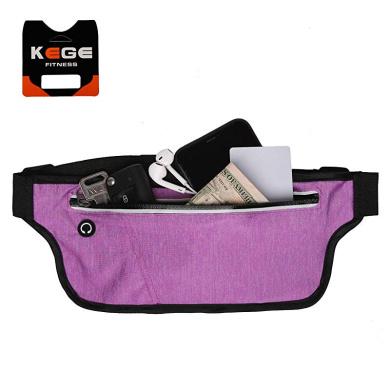 Bounce Free Water R KEGE Multiple Color Slim Reflective Running Belt Fanny Pack