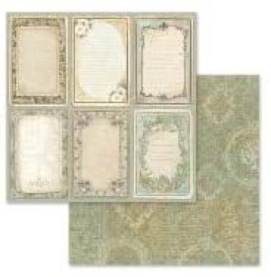 8 x 8 KFT SBBS10 PAPER PAD 8X8 10PK PROVENCE Multicoloured 20.3 x 20.3 STAMPERIA INTERNATIONAL