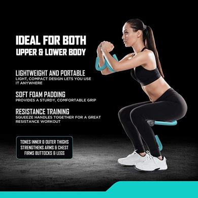 Thigh Toner Leg Exerciser,Multifunctional Thigh Training Equipment Sunshine smile Breast Enhancement Leg,Thigh Trimmer Exerciser